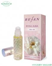 Парфюмированное масло (ролл-он) «Роза  Альба» 10мл