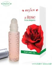 Парфюмированное масло (ролл-он) «Роза» 10мл