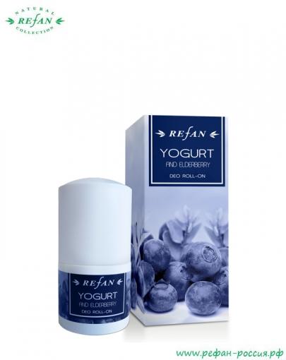 Дезодорант для тела «Йогурт и бузина»