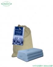 Мыло «Йогурт и бузина» в холщевом мешочке 100г