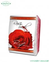 Мыло-губка «Прикосновение розы» 75г