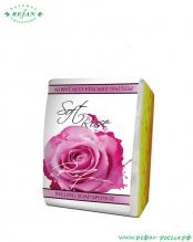 Мыло-губка «Нежная роза» 75г