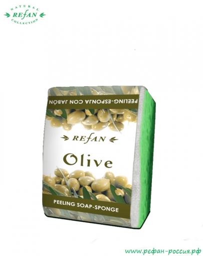 Мыло-губка Олива