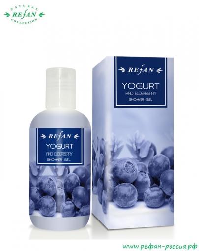 Гель для душа «Йогурт и бузина»