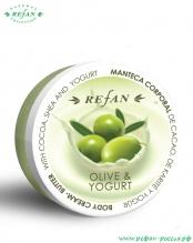 Крем-масло для тела «Олива и йогурт» 200мл