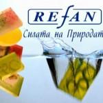 Натуральное мыло Refan